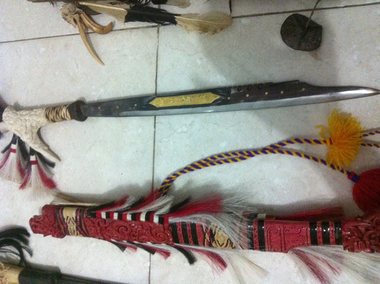 Ethnographic Arms & Armour - My first collection of Mandau