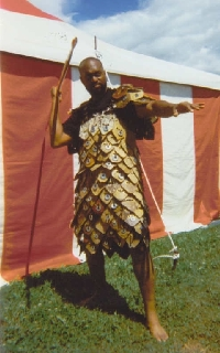 ethnographic arms armour pangolin scale