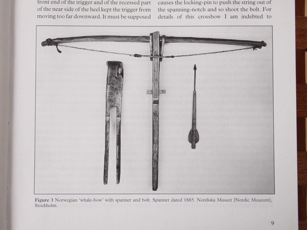 Knottelarmbrüste or other wooden crossbows Attachment